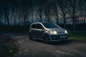 Обои для рабочего стола Фольксваген Серый 2020 Volkswagen up! GTI авто