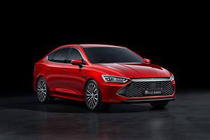 Картинка Красный Металлик Китайская BYD Qin Plus, 2021 авто