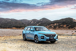 Фото Baojun Универсал Голубой Металлик Китайские Valli, 2021 авто