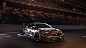 Картинка Cupra Коричневый 2020-21 Leon Competition машины