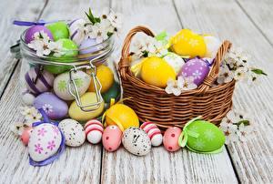 Картинка Пасха Яйца Корзина