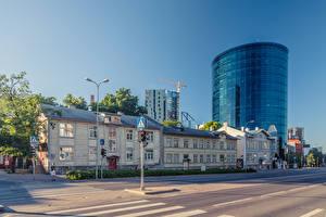 Фотография Эстония Таллин Дома Улиц город