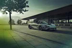 Фотографии McLaren Серый Родстер 2019-21 Novitec 720S Spider