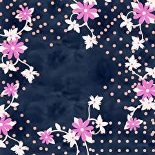 Фото Лепестков Шаблон поздравительной открытки Цветы