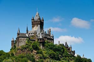 Фотография Замки Германия Холмов Cochem Castle, Rhineland-Palatinate