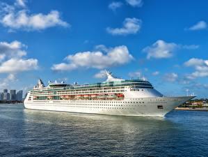 Фотография Америка Круизный лайнер Майами Белых Enchantment of the Seas