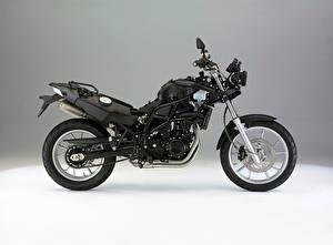 Картинки BMW - Мотоциклы Черная Сбоку