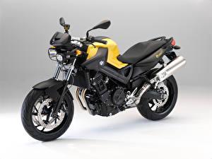 Обои для рабочего стола BMW - Мотоциклы Желтая F 800 R, 2009–11 мотоцикл