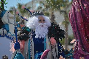 Обои Корона Карнавал и маскарад Бородатый Конфетти Neptune