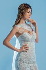 Фото Платье Поза Рука Невесты девушка