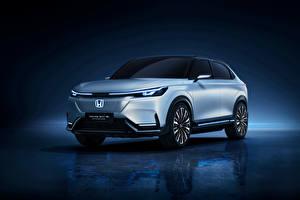 Картинки Honda Серебристый Металлик e:prototype, 2021 автомобиль