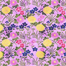 Фотография Рисованные Текстура Бумага цветок