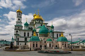 Фотографии Россия Монастырь Храмы Церковь New Jerusalem monastery, Istra, Moscow region
