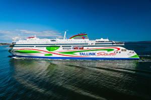 Картинки Корабль Хельсинки Таллин Megastar, Tallink, ferry