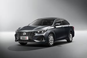 Картинки Китайская Металлик Серый фон Trumpchi GA4 Plus, 2021 Автомобили