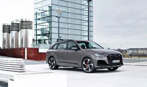 Фотографии Audi Серый Металлик Q7 competition plus, (Worldwide), (4M), 2021 Автомобили