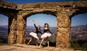Фото Балет Танцы 2 Арки молодая женщина