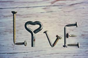Картинка Креативные Любовь Текст Английский Screws