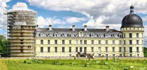 Фотография Франция Замки Valençay castle, Loire castles