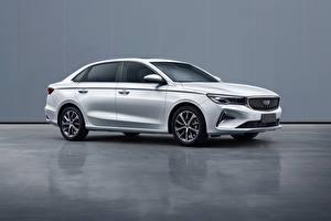 Фотография Geely Белый Металлик Китайский Emgrand, 2021 Автомобили