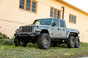 Фото Jeep SUV Серый Пикап кузов 2021 Next Level Gladiator 6x6