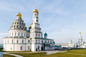 Фотографии Россия Москва Храмы Монастырь Церковь New Jerusalem Monastery Istra