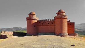 Картинка Испания Замок La Calahorra castle Andalucia