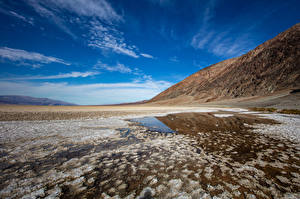 Обои для рабочего стола США Парки Калифорнии Death Valley National Park Природа