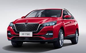 Картинка Красный Металлик Спереди Китайские Venucia T90, 2019 авто