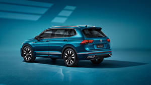 Картинка Volkswagen Кроссовер Металлик Tiguan L 380 TSI 4MOTION R-Line, (China), 2021