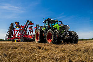 Обои Поля Сельскохозяйственная техника Тракторы 2019-21 Fendt 942 Vario Worldwide