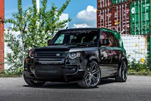 Фото Land Rover Стайлинг Черные Металлик Manhart Defender DP500, 2021 Автомобили
