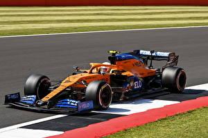 Обои McLaren Формула 1 Стайлинг 2020 MCL35 автомобиль