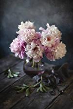 Картинки Пионы Вазе Цветы