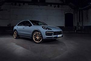 Обои Porsche Металлик Cayenne Turbo GT, (Worldwide), 2021