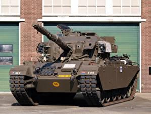 Обои для рабочего стола Танк Спереди Британский Centurion Армия