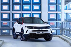 Фото Vauxhall Кроссовер Белые Металлик Английский Mokka SRI, 2021