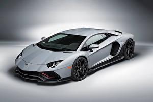 Фото Lamborghini Серый Aventador LP 780-4 Ultimae, (LB834), 2021