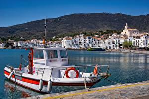 Фотография Причалы Греция Катера Elounda, Crete город