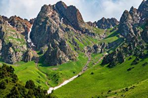 Фотографии Горы Скалы Acny-Bulak, Kyrgyzstan