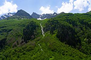 Фотография Россия Гора Реки Karachay-Cherkessia