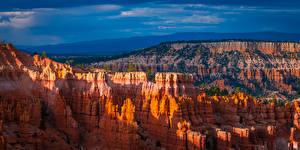 Обои Штаты Парк Каньон Скалы Bryce Canyon National Park
