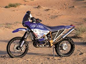 Фото БМВ Тюнинг Сбоку 1999-2000 R 1100 GS-RR Мотоциклы
