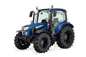 Картинка Трактор Синий Белым фоном Landini 5-085, 2021