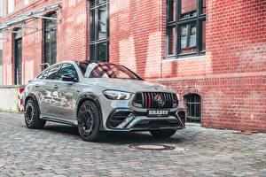 Фото Mercedes-Benz Серая Металлик Кроссовер 2021 Brabus 900 Rocket Edition