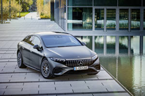Фотография Mercedes-Benz Серые 2022 AMG EQS 53 4MATIC авто