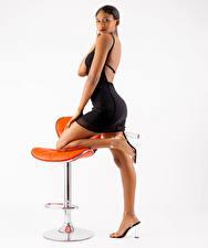 Фото Кресло Поза Ноги Платья Взгляд Mya