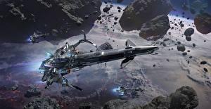 Картинка Космолет Star Conflict Полет