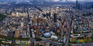 Картинки Тайвань Дома Taipei City