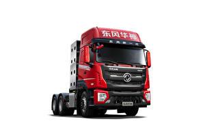 Фото Грузовики Красная Металлик Белым фоном Китайские Dongfeng Vasol DV7 CNG 6×4 Tractor, 2020 --